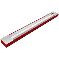Hatco NLL-48 48 inch Red Narrow LED Display Light - 14W