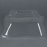 Fineline Wavetrends 112-L Clear PET Dome Lid for 12 oz. Bowl - 120 / Case