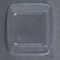 Fineline Wavetrends 1102-L Clear PET Dome Lid for 2 oz. Square Shot Glass - 1000 / Case
