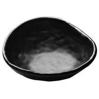 Elite Global Solutions JWT65 Zen 7 oz. Irregular Edge Black Bowl