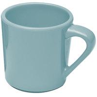 Elite Global Solutions DC Cottage Vintage California Cameo Blue 10 oz. Melamine Mug