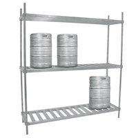 Advance Tabco KR-42 Keg Rack - 42 inch