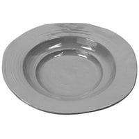Elite Global Solutions M14B Della Terra 44 oz. Gray Irregular Round Serving Bowl