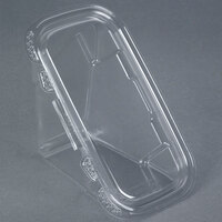 Tamper-Evident Recycled PET Sandwich Wedge Container - 200 / Case