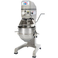 Globe SP30 Gear Driven 30 Qt. Commercial Planetary Floor Mixer - 115V, 1 hp