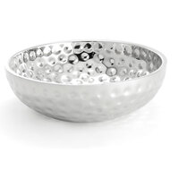 Tablecraft RB134 Bali Round Double Wall Stainless Steel Bowl - 13 inch x 4 inch