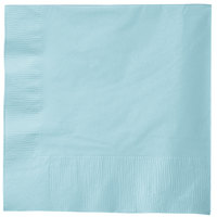 Creative Converting 58157B Pastel Blue 3-Ply 1/4 Fold Luncheon Napkin - 500/Case