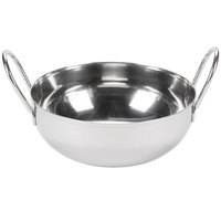 Tablecraft 840 28 oz. Stainless Steel Kady Serving Bowl