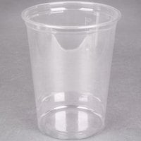 Choice 32 oz. Clear Plastic Round Deli Container - 50/Pack
