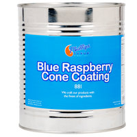 Blue Raspberry Ice Cream Cone Shell Dip - #10 Can
