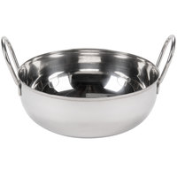 Tablecraft 841 40 oz. Stainless Steel Kady Serving Bowl