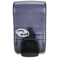 Noble Chemical Novo 30.4 oz. (900 mL) Manual Foaming Soap / Sanitizer Dispenser - 5 inch x 4 inch x 8 1/2 inch
