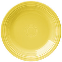 Homer Laughlin 466320 Fiesta Sunflower 10 1/2 inch Plate - 12/Case