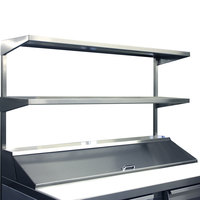 Continental Refrigerator DOS60 60 inch x 16 inch Double Overshelf
