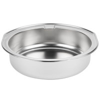 Vollrath 25444-1 Replacement Round Dripless Water Pan for 7 qt. Roll Top Chafer