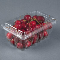 1 lb. Vented Clamshell Produce / Berry Container - 360/Case