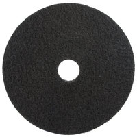 3M 7200 20 inch Black Stripping Pad - 5/Case