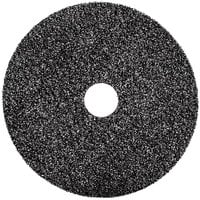 3M 7300 19 inch Black High Productivity Stripping Floor Pad - 5/Case