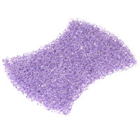 3M 2020CC Scotch-Brite 4 1/2 inch x 2 13/16 inch Heavy-Duty Purple Scour Pad - 4/Pack