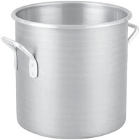 Vollrath 4310 Wear-Ever 40 Qt. Classic Aluminum Rolled Edge Stock Pot