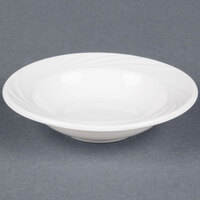 CAC GAD-11 Garden State 5.5 oz. Bone White Porcelain Fruit / Monkey Dish - 36/Case