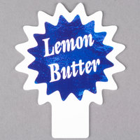 Deli Tag Topper - LEMON BUTTER - Ocean Blue