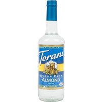 Torani 750 mL Sugar Free Almond Flavoring Syrup