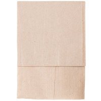 Kraft Natural Low-Fold 1-Ply Dispenser Napkin - 250/Pack