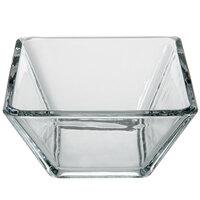 Libbey 1796599 Tempo 4 1/4 inch Square Bowl - 12/Case