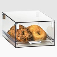 Cal Mil 266 Stackable One Tier Tray Case 11 inch x 16 inch x 6 inch