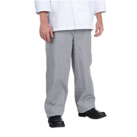 Chef Revival P020HT S S Houndstooth Men's Baggy Cook Pants