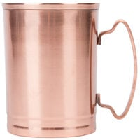 World Tableware CMM-200 14 oz. Moscow Mule Cup with Copper Finish - 12 / Case