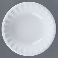 World Tableware CO-16 Cookout 5 oz. Bright White Round Porcelain Fruit Bowl - 36/Case