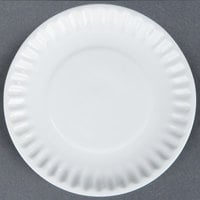 World Tableware CO-10 Cookout 6 3/8 inch Bright White Round Porcelain Plate - 36/Case
