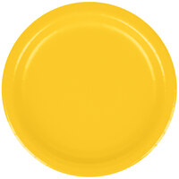 Creative Converting 791021B 7 inch School Bus Yellow Paper Lunch Plate - 24 / Pack