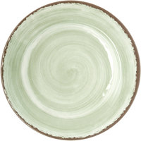 Carlisle 5400146 Mingle 11 inch Jade Round Melamine Dinner Plate - 12 / Case