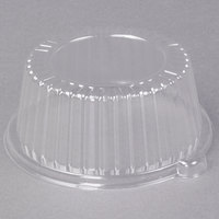 Dart Solo CL6P 6 inch Clear Dome Lid for Foam Dinnerware - 500/Case