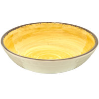 Carlisle 5401913 Mingle 35.5 oz. Amber Melamine Cereal Bowl - 12 / Case
