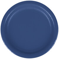 Creative Converting 791137B 7 inch Navy Paper Lunch Plate - 24 / Pack