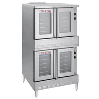 Blodgett SHO-100-E Double Deck Full Size Electric Convection Oven - 22 kW