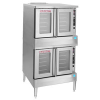 Blodgett BDO-100-E Double Deck Full Size Electric Convection Oven - 220/240V, 3 Phase, 22kW