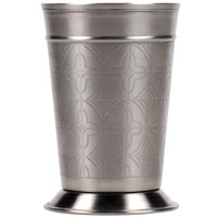 World Tableware JC-26 15 oz. Mint Julep Cup with Etched Detailing - 12 / Case