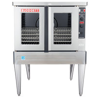 Blodgett ZEPHAIRE-100-E Single Deck Full Size Standard Depth Electric Convection Oven - 208V, 3 Phase, 11kW