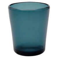 Carlisle MIN544015 Mingle 14 oz. Teal Tritan Plastic Double Old Fashioned Glass - 12 / Case