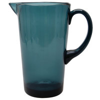 Carlisle MIN544315 Mingle 74 oz. Teal Tritan Plastic Pitcher - 4/Case
