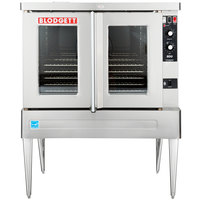 Blodgett BDO-100-G-ES Single Deck Full Size Gas Convection Oven - 45,000 BTU