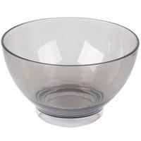Carlisle EP1018 Epicure Cased 96 oz. Smoke Tritan Plastic Bowl - 6 / Case