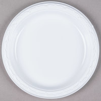 Genpak 70700 Aristocrat 7 inch White Premium Plastic Plate   - 125/Pack