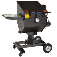 R & V Works FF3-R-SS 8.5 Gallon Stainless Steel Outdoor Cajun Deep Fryer - 90,000 BTU