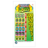 Double Money 5 Window Pull Tab Tickets - 918 Tickets per Deal - Total Payout: $700
